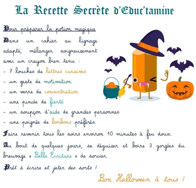 potion magique Halloween